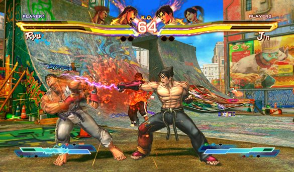 Street Fighter X Tekken Preview