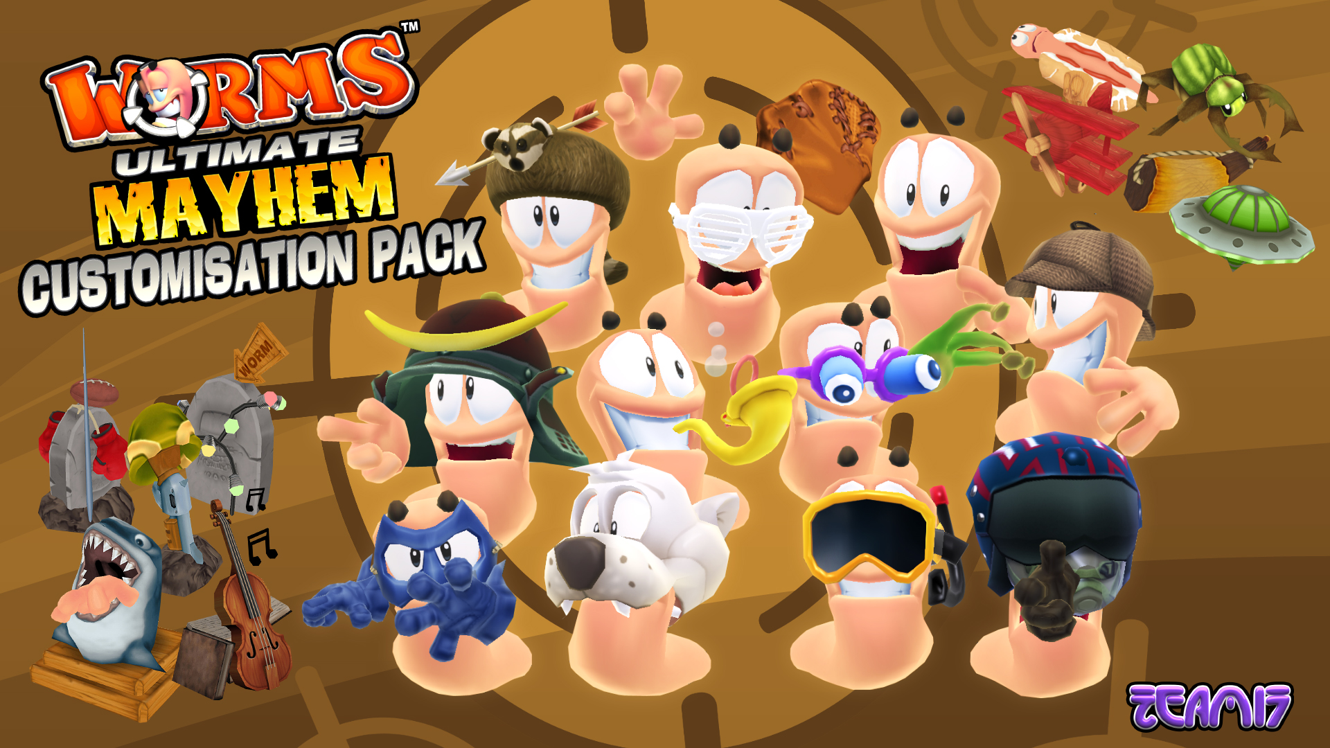 worms_ultimate_mayhem_dlc_customisation_content_artwork