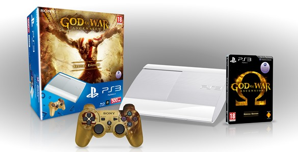 God of War Special Edition available with bespoke Dualshock and Limited Edition Classic White PS3