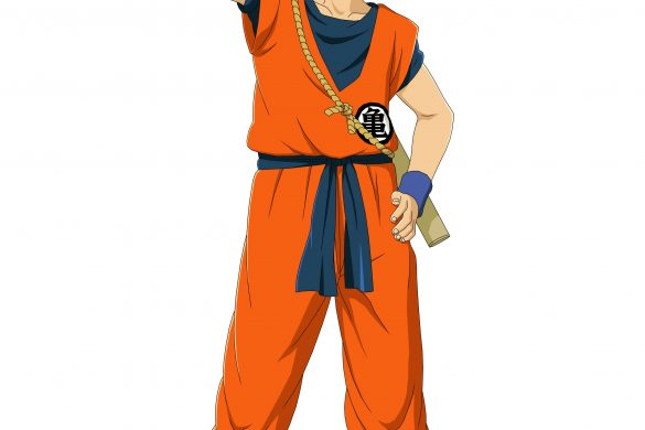 Goku Costume art.