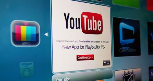 YouTube PS3