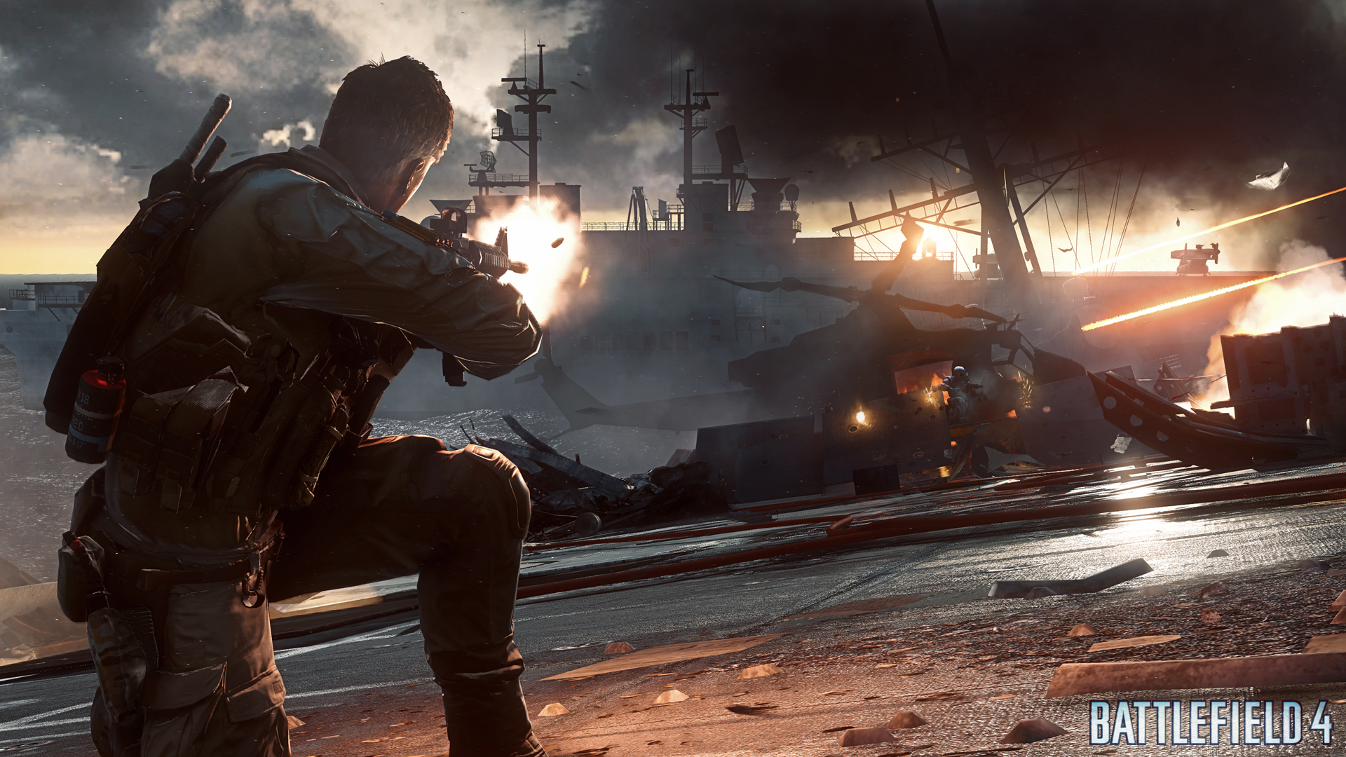 battlefield 4 e3 multiplayer screenshots