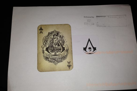 Assasins Creed Black Flag secret Ace Card