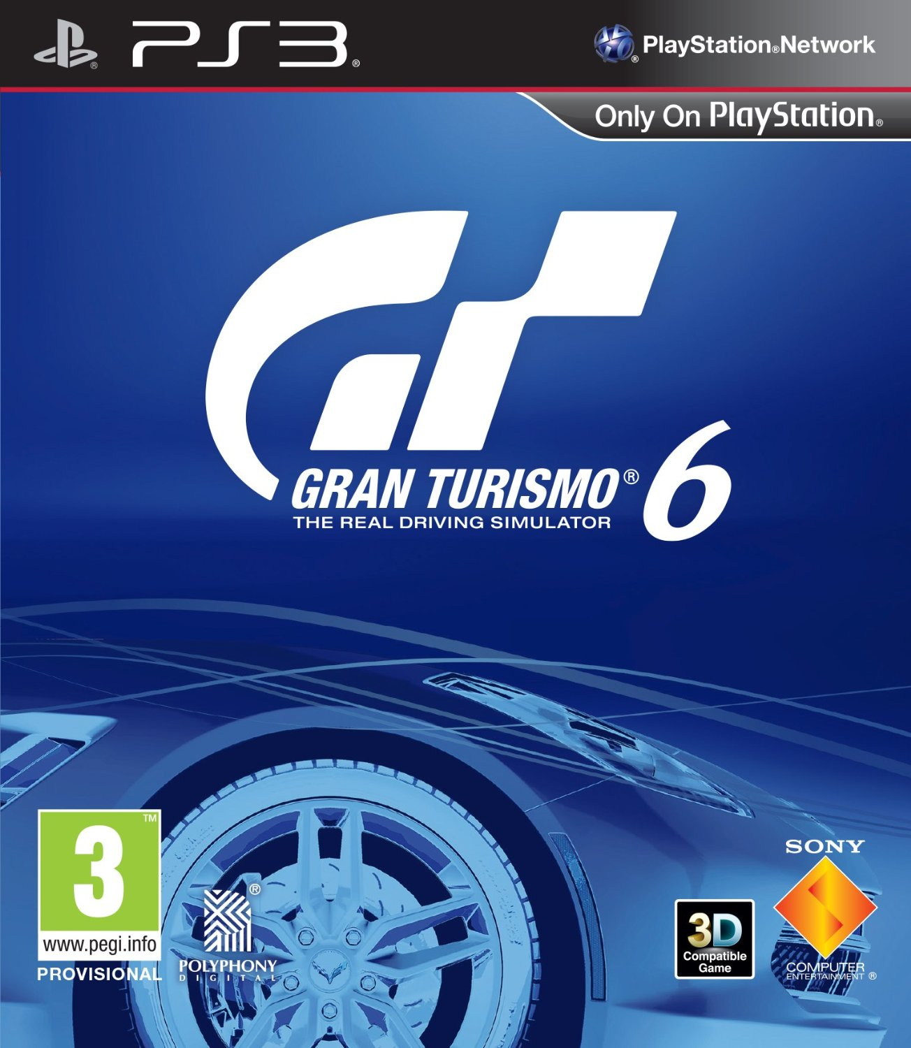 Gran Turismo 6 pal box ps3
