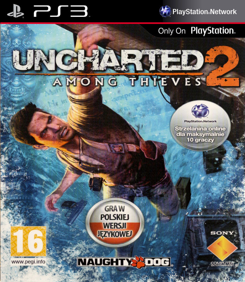 Uncharted 2 Among Thieves pal box ps3