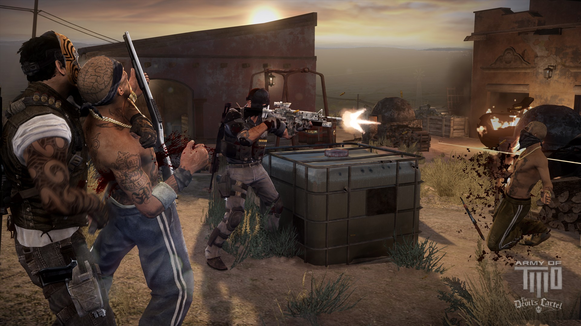 Army of Two The Devil's Cartel Review -