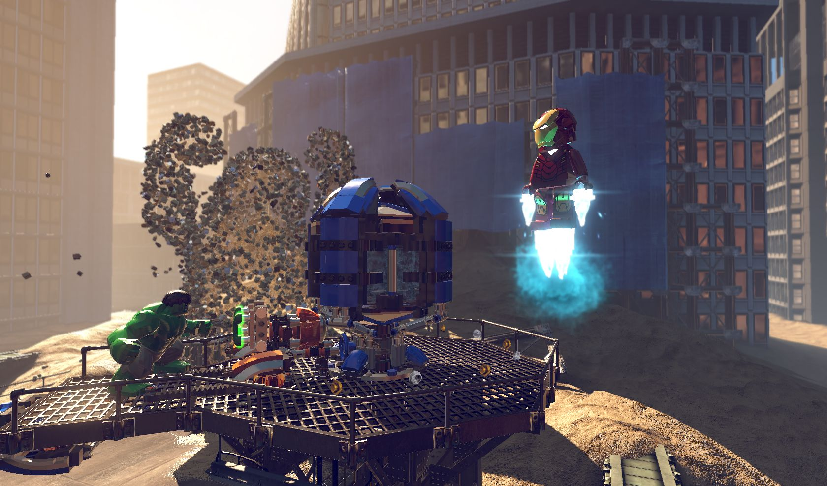 Lego Marvel Super Heroes ps3 -