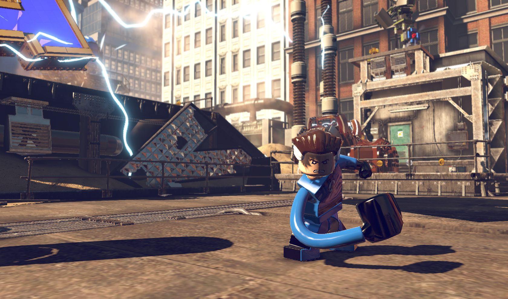 Lego Marvel Super Heroes ps3 0
