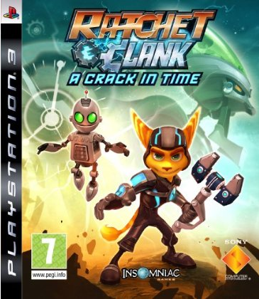 Ratchet & Clank Future A Crack In Time pal box ps3